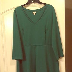 Apple Green mid length dress